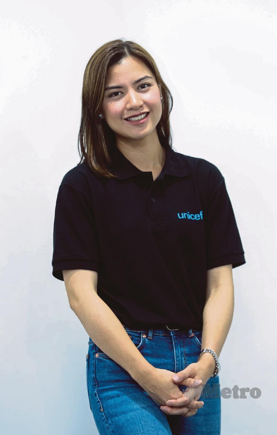 DUTA UNICEF Malaysia, Lisa Surihani. FOTO Asyraf Hamzah