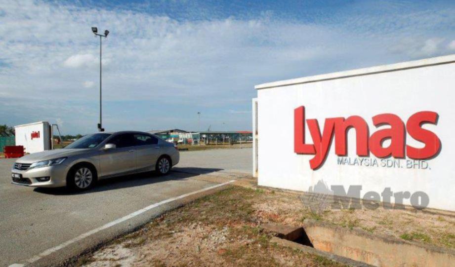 LYNAS Corp menandatangani memorandum persefahaman (MoU) dengan Kalgoorlie. FOTO Arkib NSTP