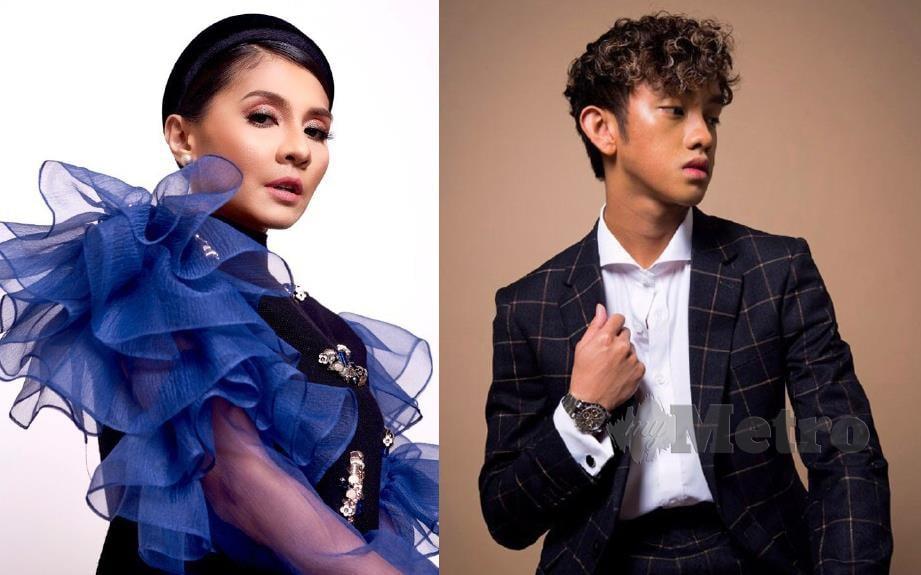 Zizi Kirana (kiri) dan Ismail Izzani antara artis terkenal yang akan membuat persembahan pada konsert One Love Asia.