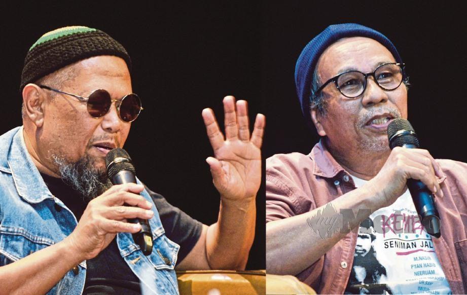 BOB Lokman bersama Nasir Jani. FOTO Khairul Azhar Ahmad