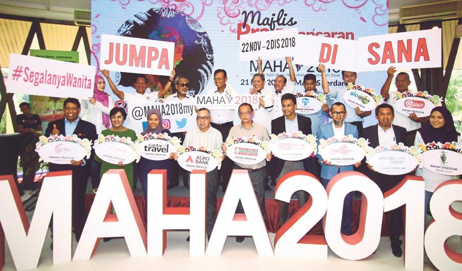 SEGALANYA Wanita slogan MAHA 2018.