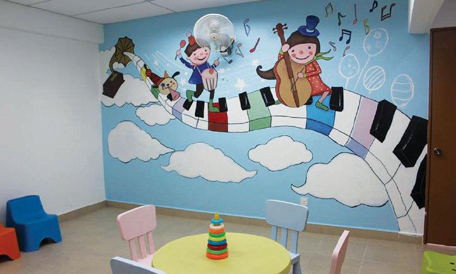 Sumbangan penuh makna harian metro for Mural untuk kanak kanak
