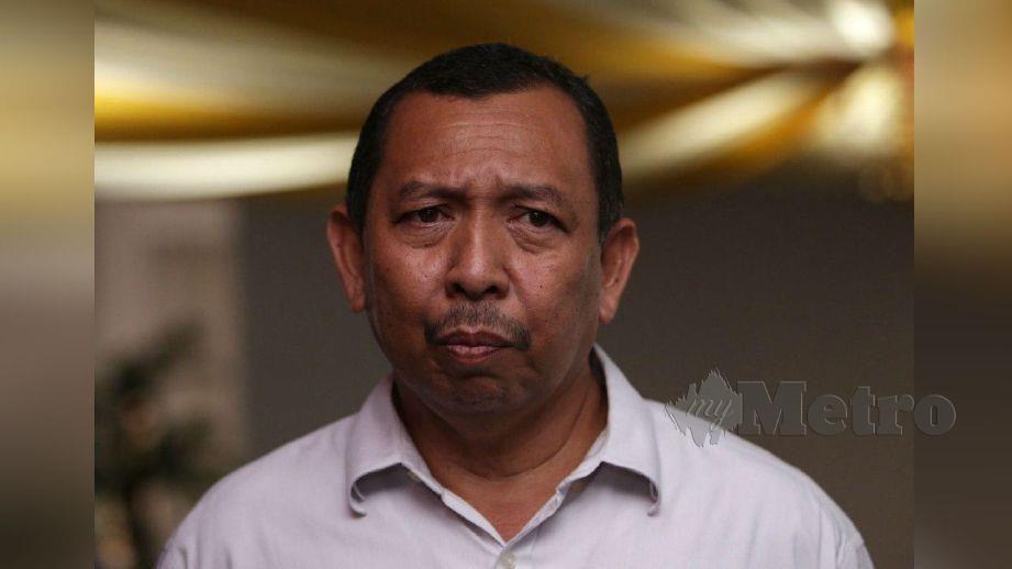 MUHAMMAD Suhaimi ketika ditemui di ibu pejabat Bersatu di Petaling Jaya. FOTO Mohamad Shahril Badri Saali