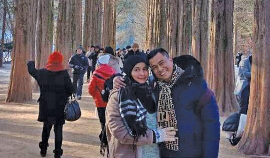 NORA dan Den tetap gembira sepanjang percutian mereka ke Seoul pada 24-28 Disember lalu.
