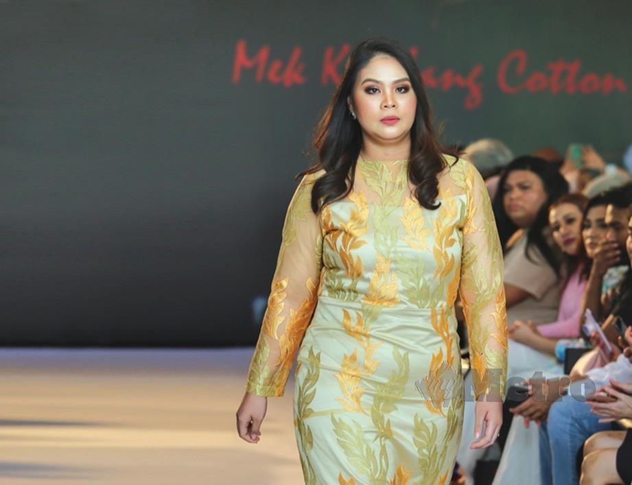 KUALA LUMPUR 13 FEBRUARI 2020. Mek Kembang Fashion Show 2020 di Forest Valley Hall. NSTP/ASWADI ALIAS.