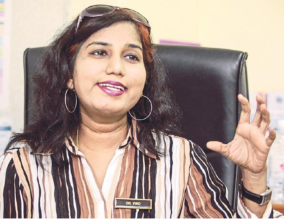 PAKAR Gynaecology, Dr. Vinodhini Bhaskaran di Sri Kota Hospital,Klang. FOTO: Osman Adnan