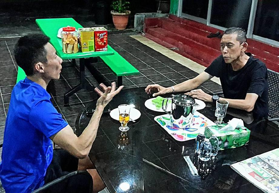 CHONG Wei (kiri) kerap berjumpa Misbun baru-baru ini. FOTO Facebook Misbun Sidek