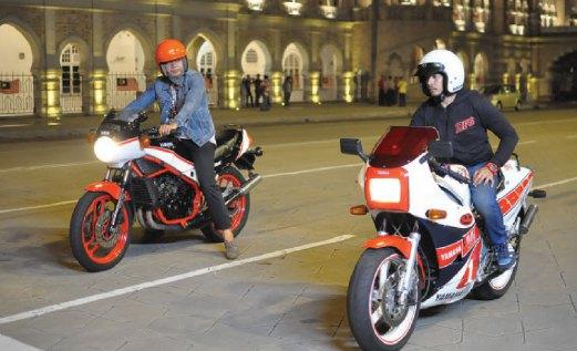 PEKIN dan Rosyam dalam Mat Moto.