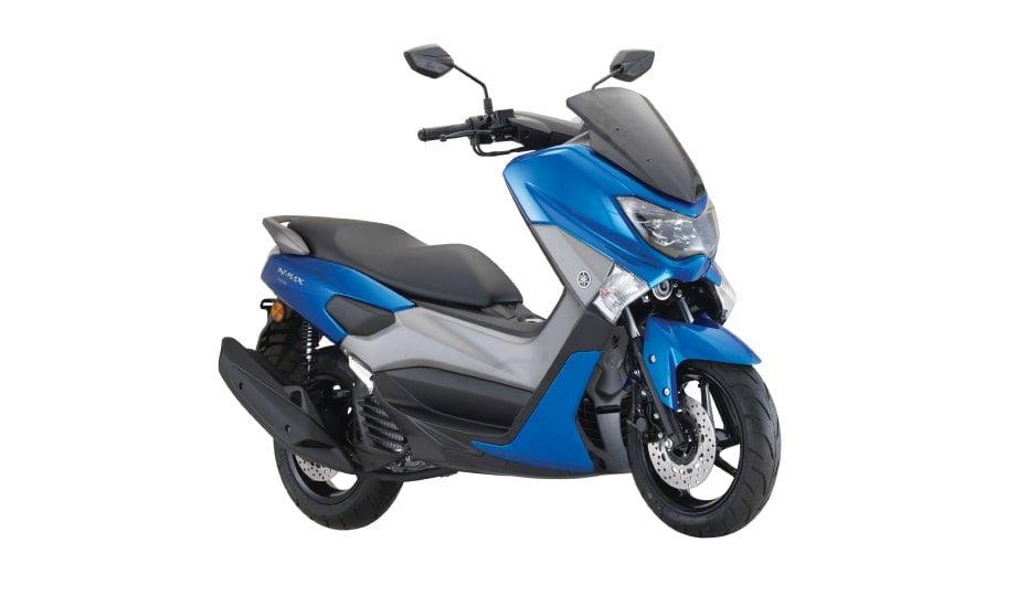 WARNA baru skuter Yamaha N-Max