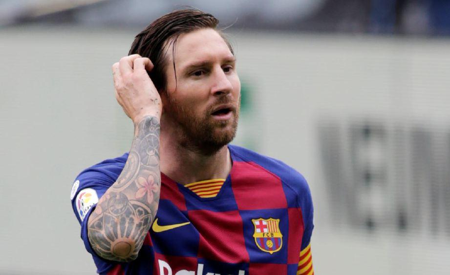 MESSI makin kecewa bersama Barcelona. FOTO Agensi