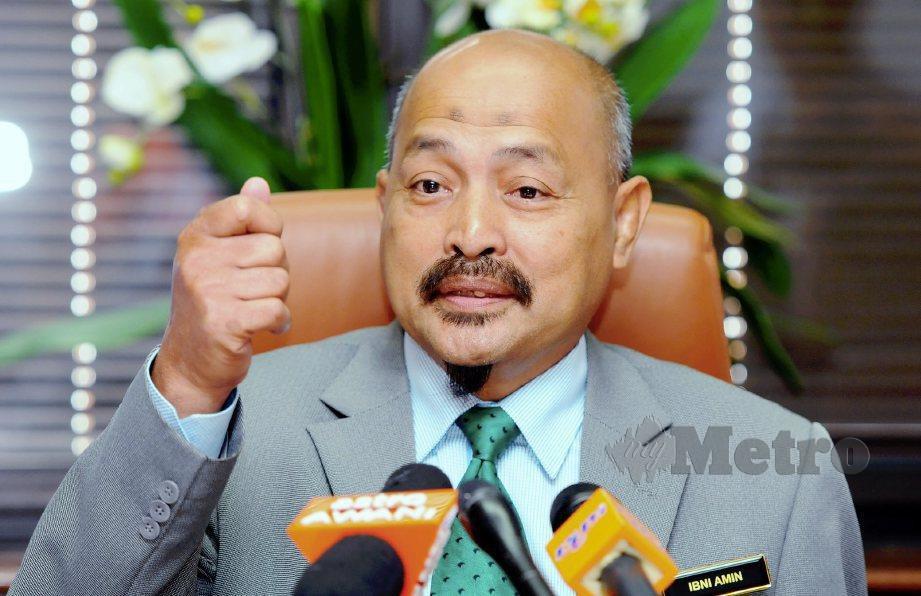 IBNI Amin berkata MSNT belum putuskan penyertaan ke Sukma. FOTO NSTP