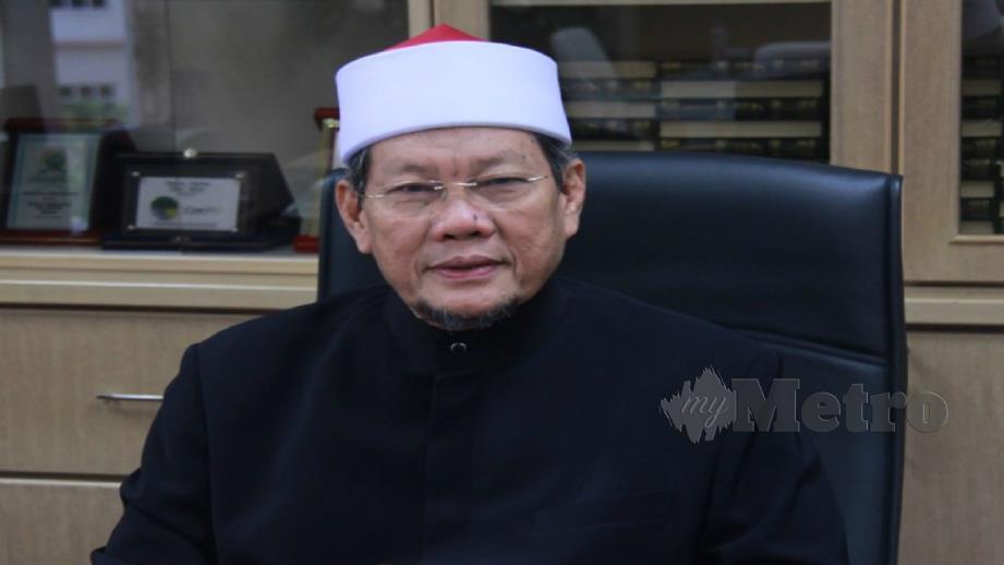 SYEIKH Fadzil Awang. FOTO Ihsan Jabatan Mufti Kedah