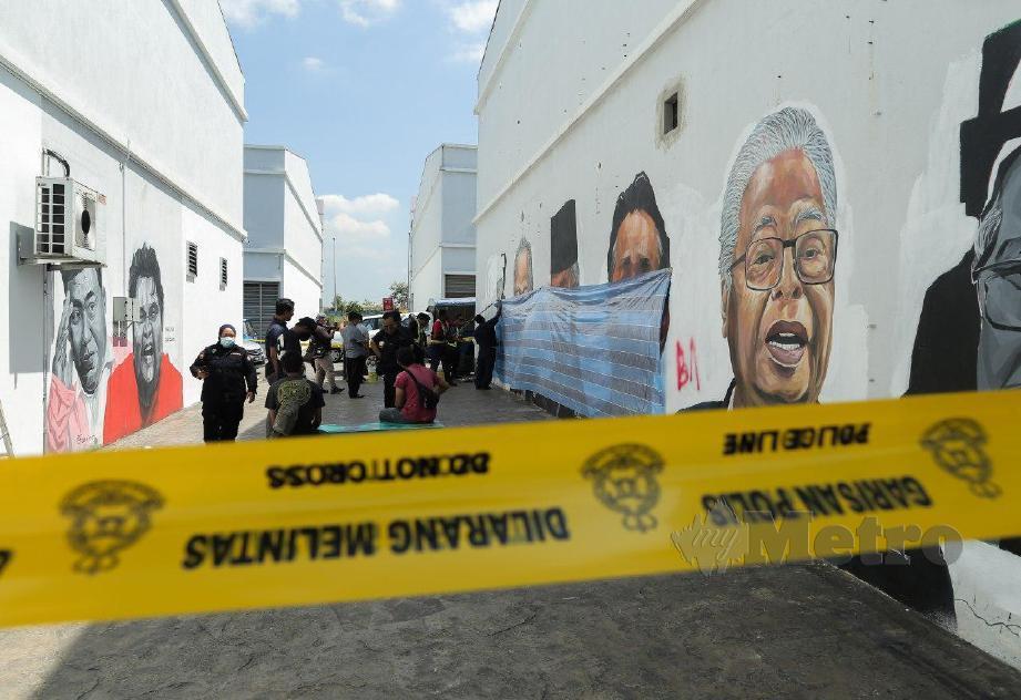 Conteng mural pemimpin: Sultan Selangor murka | Harian Metro