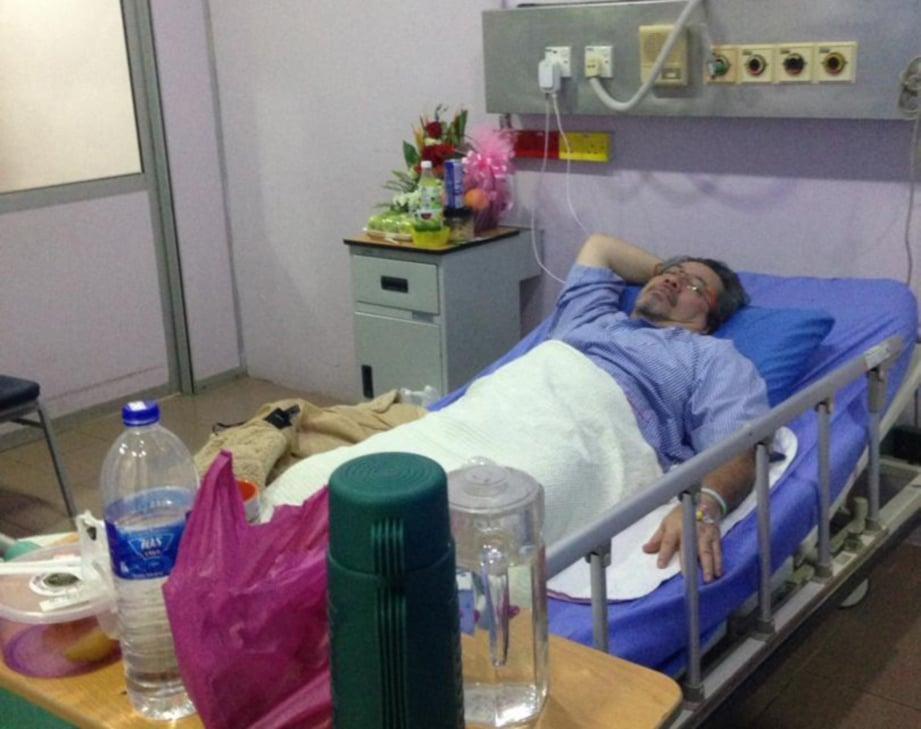 Mustapha Kamal Masuk Hospital Harian Metro