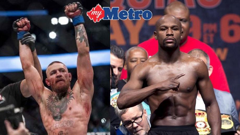 McGregor tidak sabar melawan Mayweather. FOTO fail REUTERS
