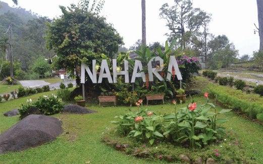 THE Nahara Kalumpang menggamit kehadiran pengunjung yang gemarkan keindahan alam semula jadi.