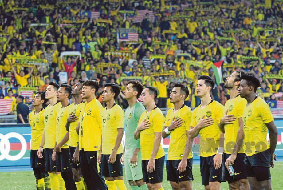 HARIMAU Malaya bakal berdepan jadual padat. FOTO Eizairi Shamsudin