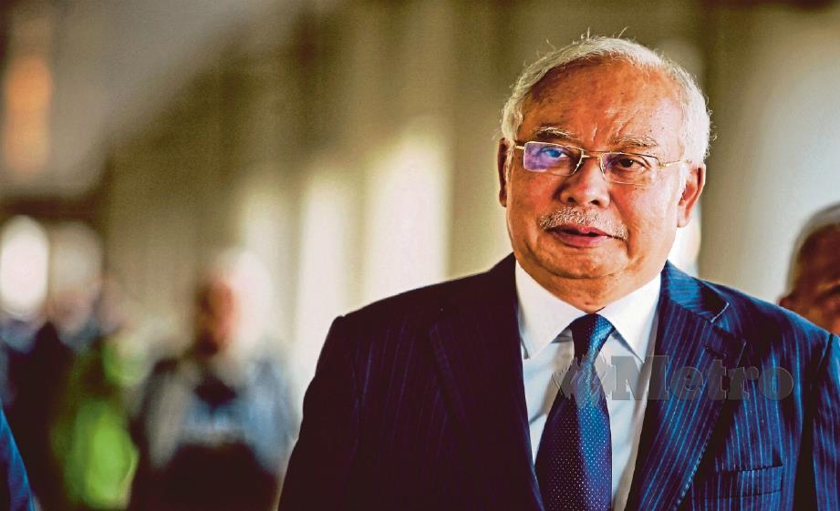 Gambar fail, Najib Razak. FOTO NSTP.