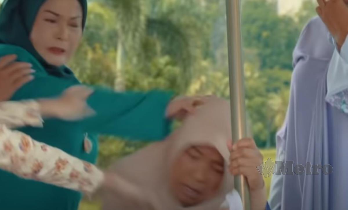 ANTARA babak dalam drama Tak Sempurna Mencintaimu.