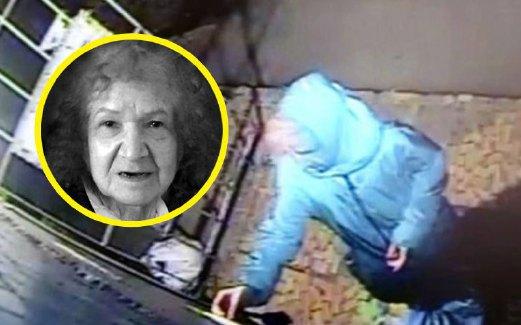 GAMBAR dari rakaman CCTV menunjukkan Tamara membawa beg plastik berisi sebahagian anggota tubuh mangsanya, minggu lalu.