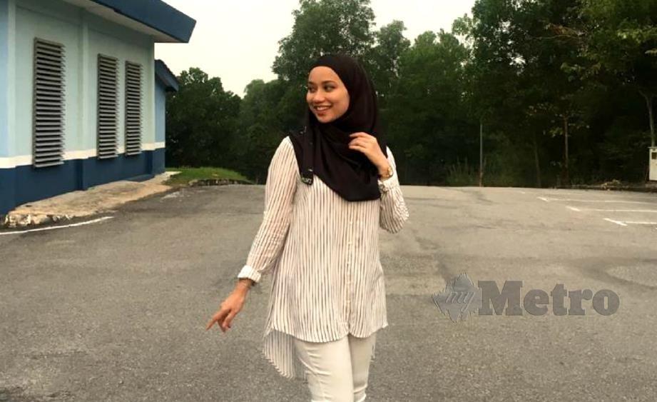 NUR Syafiqah dikenali selepas video nyanyiannya tular di media sosial.