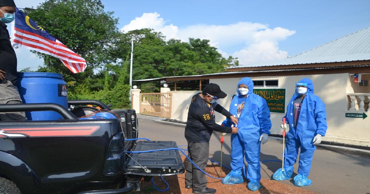 Berasa hilang separuh nyawa selepas pakai PPE