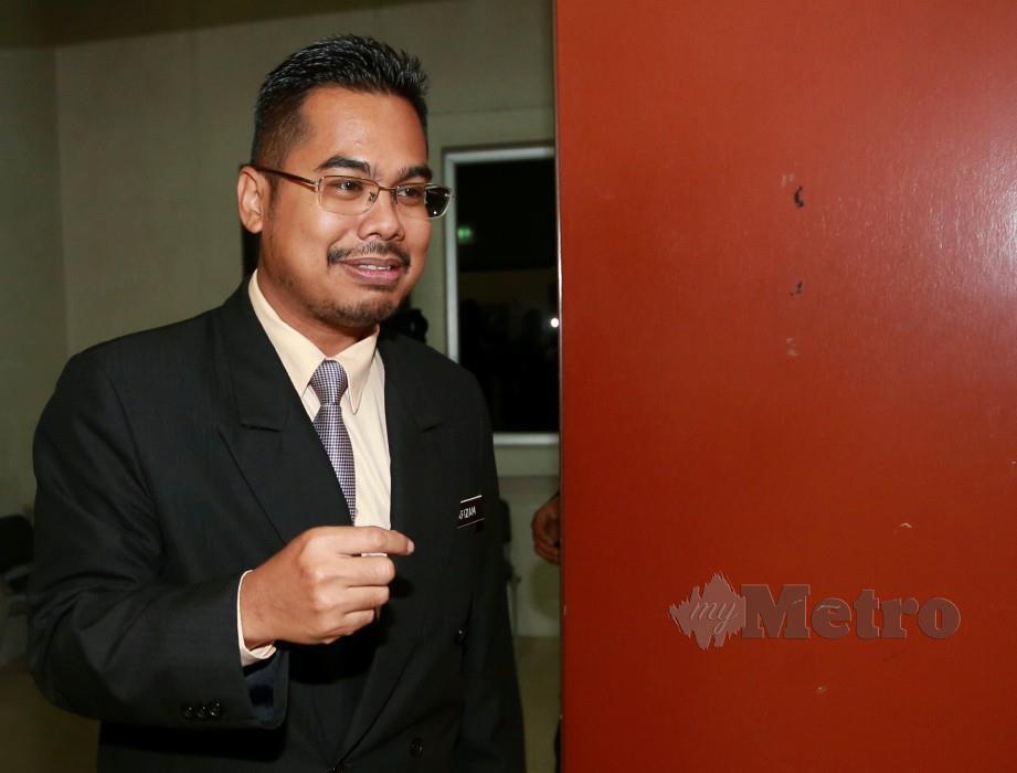 DR Ahmad Hafizam hadir di Mahkamah Koroner hari ini. FOTO Sairien Nafis.