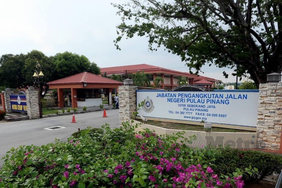 Bangunan JPJ Pulau Pinang di Seberang Jaya. FOTO Rosli Ahmad
