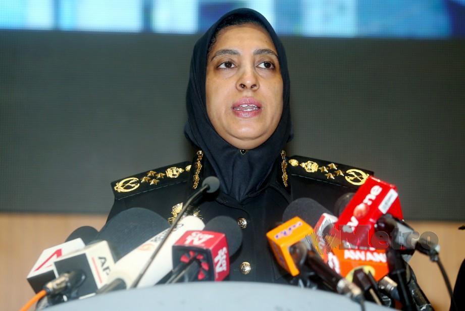 Latheefa Koya menyatakan senarai mereka yang dikenakan kompaun belum muktamad. FOTO Mohd Fadli Hamzah