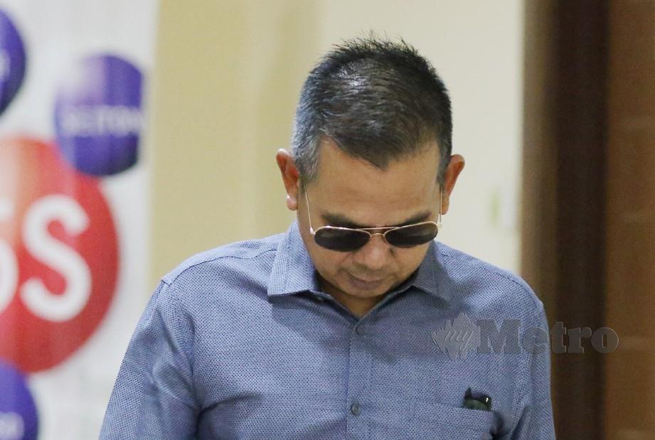 OSMERA mengaku bersalah di Mahkamah Sesyen Georgetown. FOTO Mikail Ong.