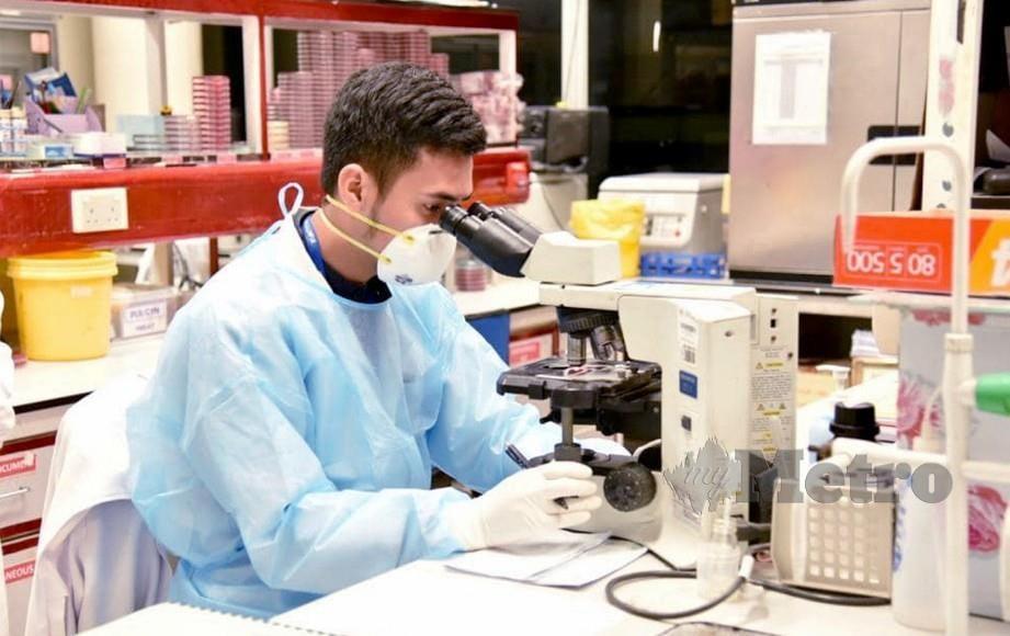 MAKMAL Mikrobiologi di Jabatan Patologi HKL. FOTO Ihsan FB.