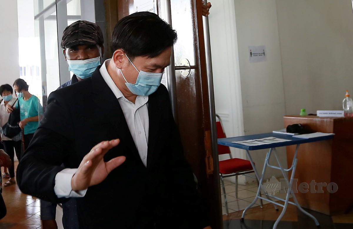 PAUL YONG didakwa merogol pembantu rumahnya. FOTO Sharul Hafiz Zam