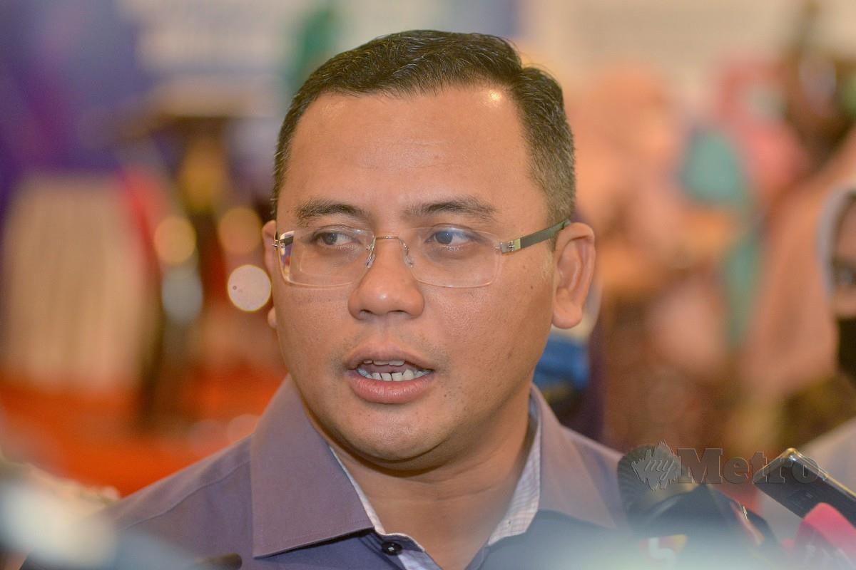 AMIRUDIN ditemui media selepas Majlis Menandatangani Memorandum Persefahaman. FOTO Faiz Anuar