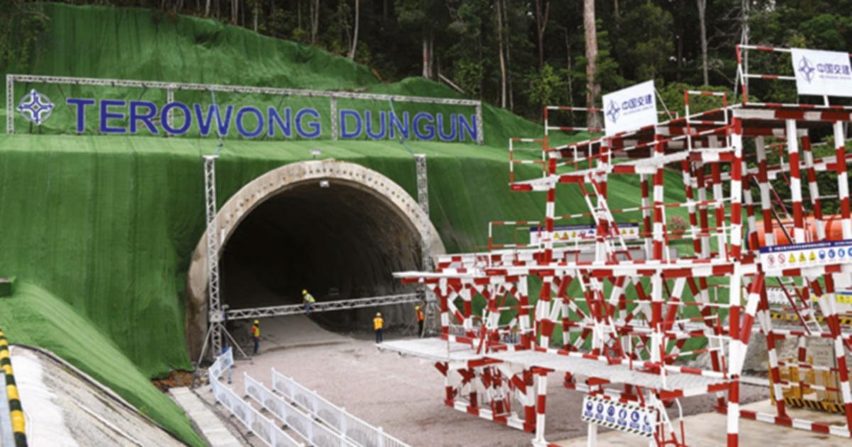 Penembusan Terowong Dungun enam bulan lebih awal