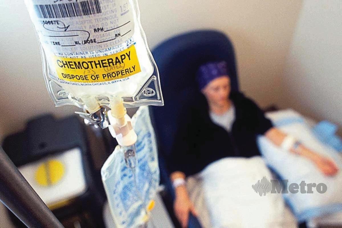 KEMOTERAPI adalah rawatan biasa membunuh sel barah.