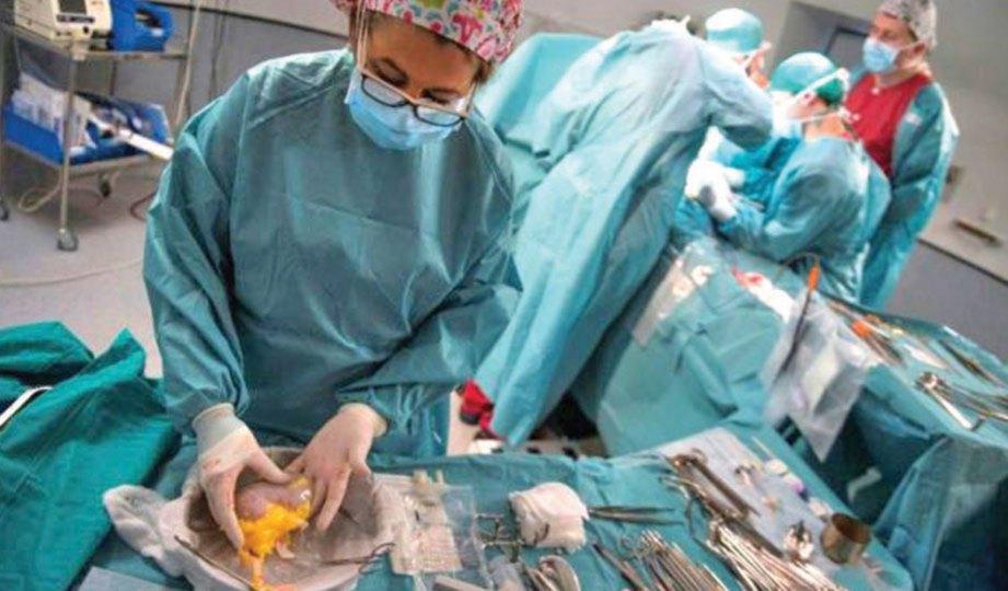 ORGAN akan dihantar dengan kapal terbang untuk pesakit yang tinggal jauh.