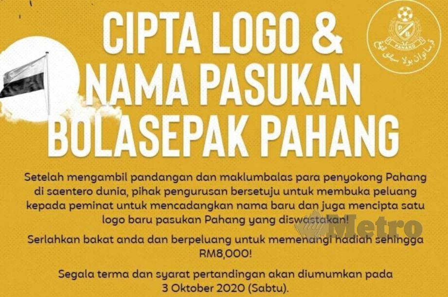 Poster di Facebook Pahang FA