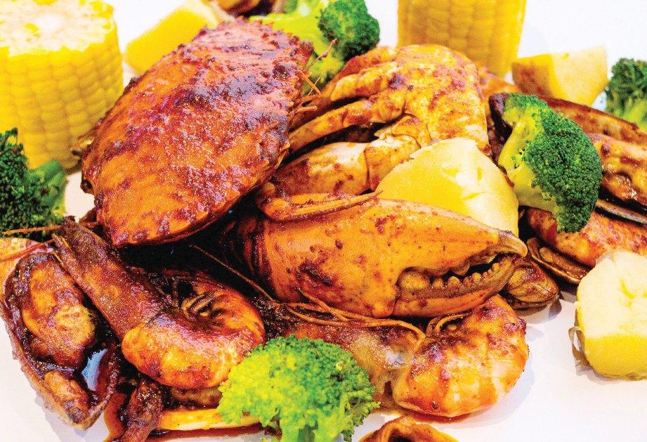 SAIZ hidangan laut juga premium.