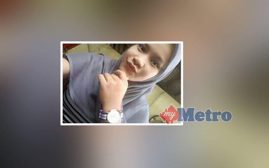Noor Habibah Maisarah hilang sejak tiga hari lalu. FOTO Ramli Ibrahim