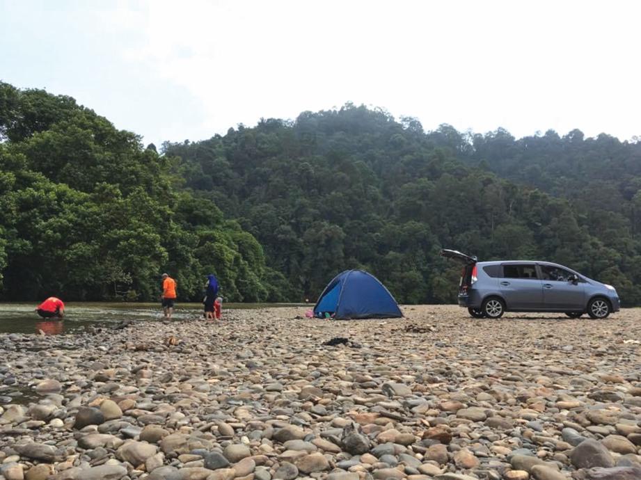 ANTARA daya tarikan di Sungai Lembing yang mempunyai banyak tersimpan sejarah perlombongan biji timah.