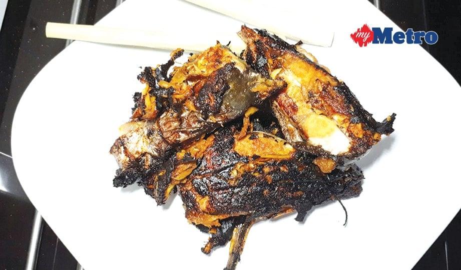 SEDIA dihidangkan. Ikan patin bakar ini enak dimakan bersama nasi panas.