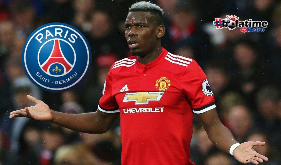 HUBUNGAN Pogba dengan Mourinho tidak begitu baik. FOTO EPA-EFE