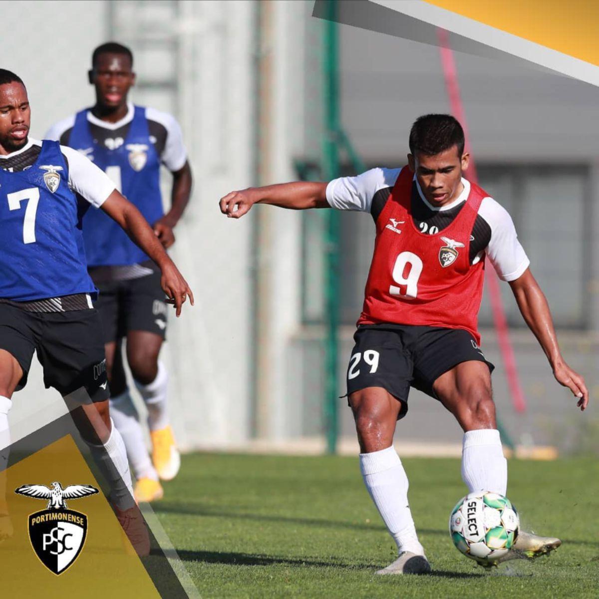 SAFAWI ketika ini dipinjamkan ke Portimonense SC. FOTO FB Portimonense SC