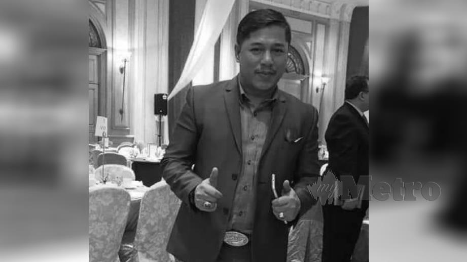 MOKHAIRUL Shamsul maut selepas dilanggar van ketika menukar tayar kenderaan miliknya di Jalan Kuching berdekatan Bulatan Segambut. FOTO Ihsan Pembaca