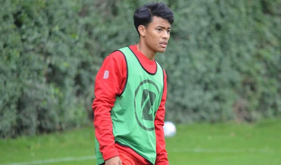 LUQMAN perlu pastikan kecergasan di tahap terbaik sebelum diturunkan. FOTO Facebook KV Kortrijk