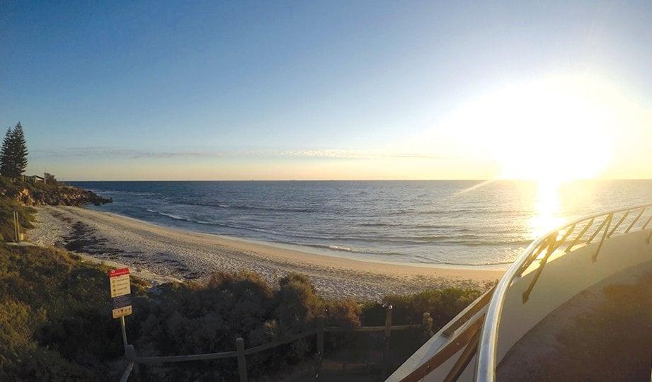 HILLARY Boat Harbour antara lokasi paling cantik bagi melihat panorama indah matahari terbenam di langit Australia.