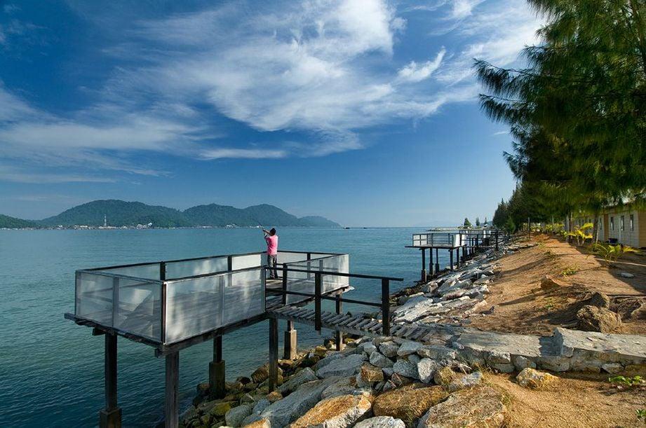 MEMENUHI 'gian' memancing. FOTO Ihsan Rockbund Fishing Chalet