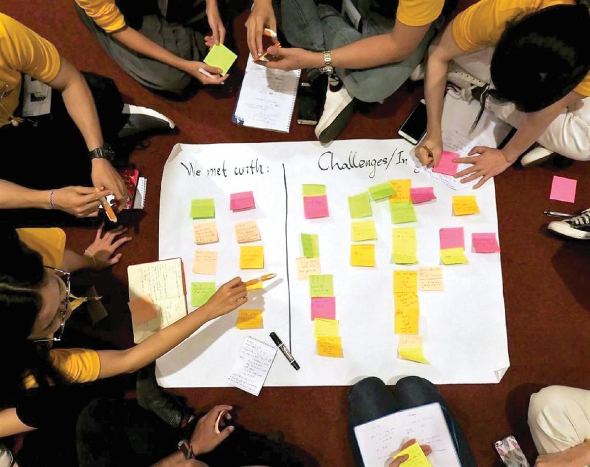 DINAMISME dalam tugasan berkumpulan mendedahkan mahasiswa kepada realiti alam pekerjaan kelak - Gambar hiasan
