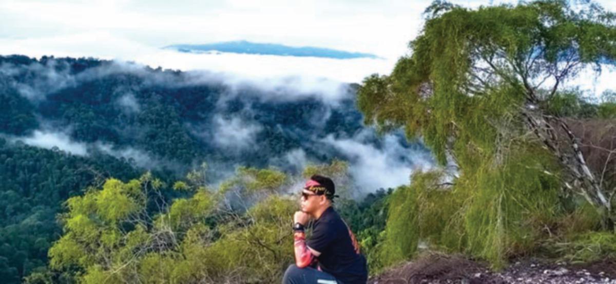 SAUJANA indah di Gunung Pulut, Gerik, Perak.