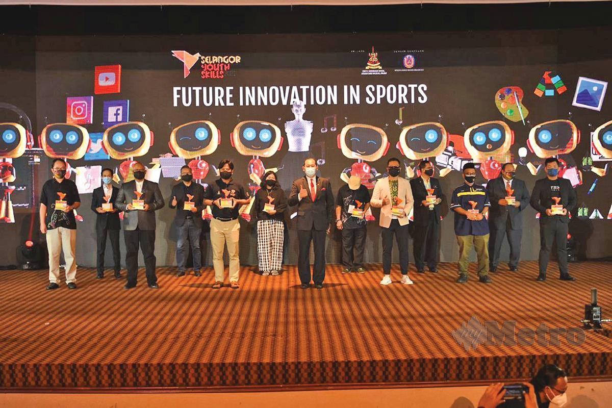 MAJLIS pelancaran Selangor Youth Skills 2021.